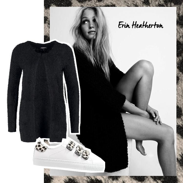Erin Heatherton - Sneaker Freaker by AMAZE Celebrities