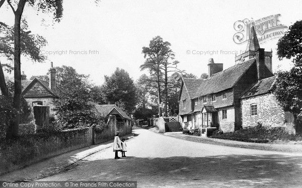 the lane in 1906