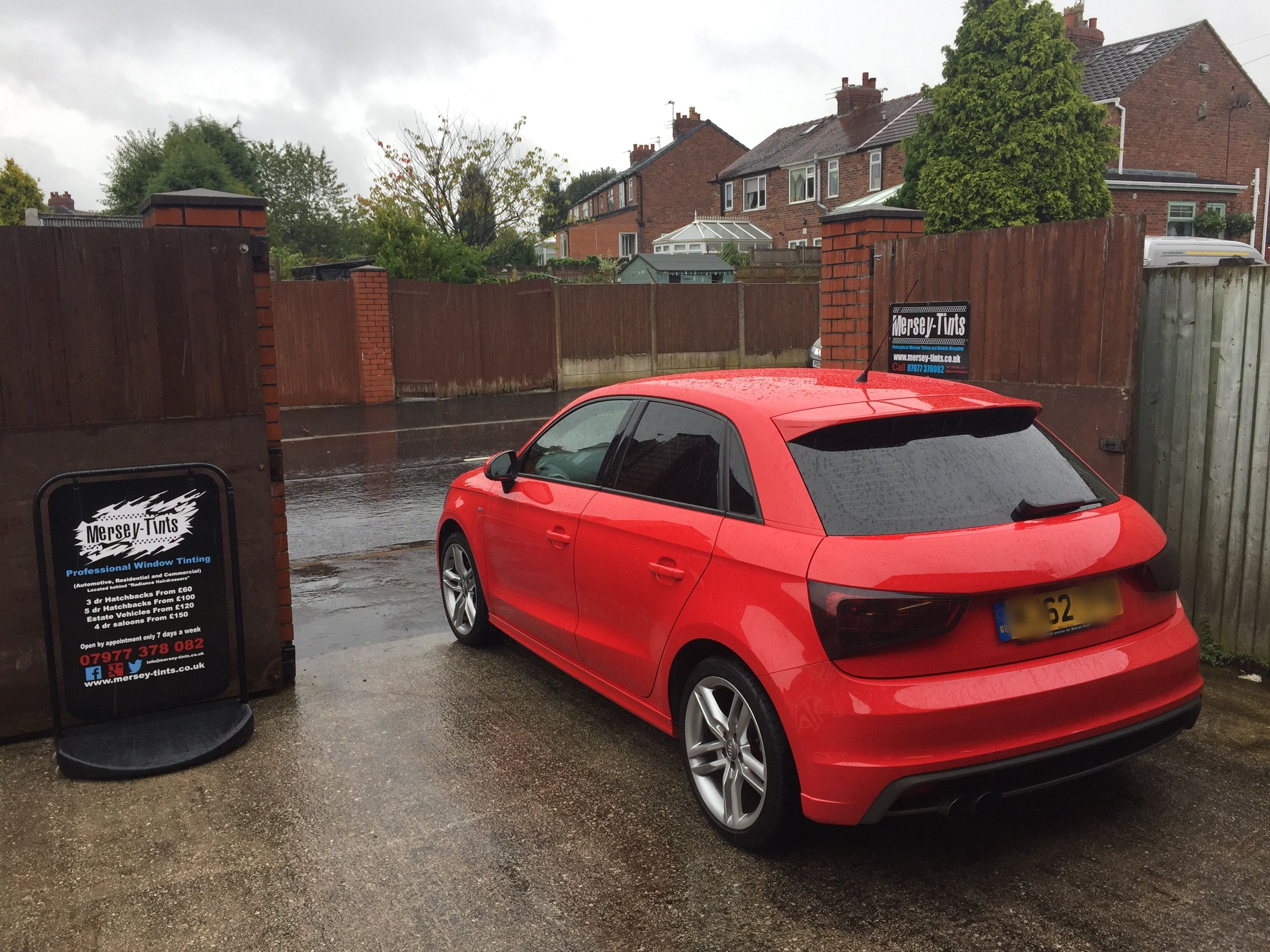 2012 Audi A1 S Line In This Morning For 5 Carbon Limo Tints To