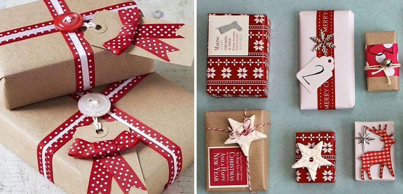 envolver regalos navidad 2 Consejos para envolver regalos de Navidad