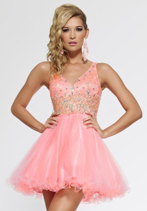t tahari plus length attire | VESTIDOS 1 | Pinterest | Short prom ...