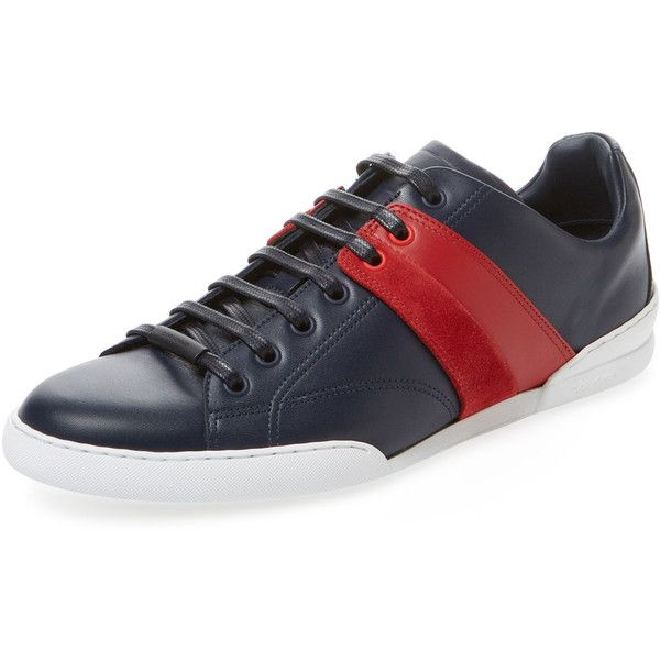 Dior Homme Men s Contrast Side Low Top Sneaker - Size 39 ( 449) ❤ liked 996bc6b929e