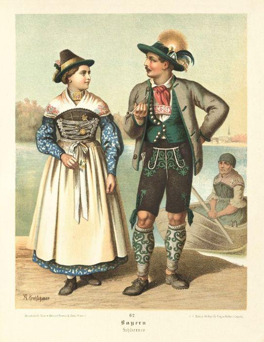 немцы костюм картинки такому выводу пришли