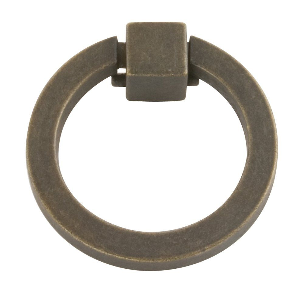 Hickory Hardware P3190-WOA 2-Inch Camarilla Ring Cabinet Pull, 2 ...