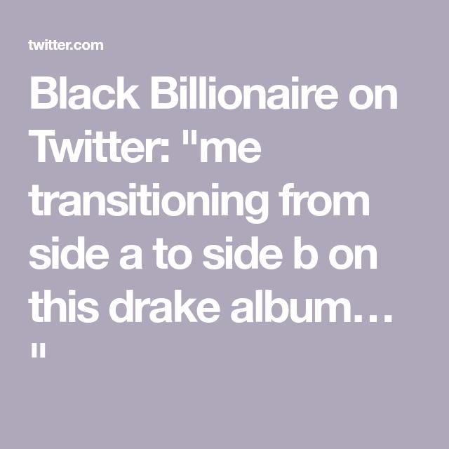 Black Billionaire On Billionaire