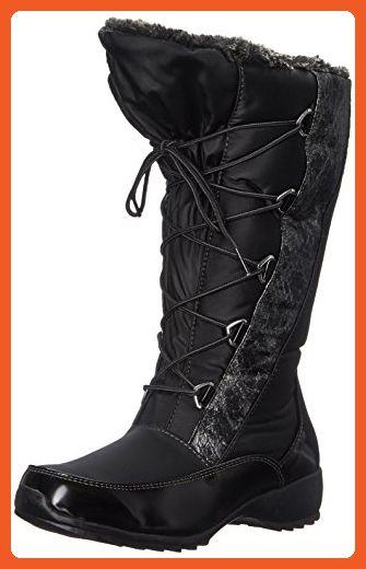 2948e4f4ef5 Sporto Women's Tina Snow Boot, Black, 11 M US - Boots for women ...