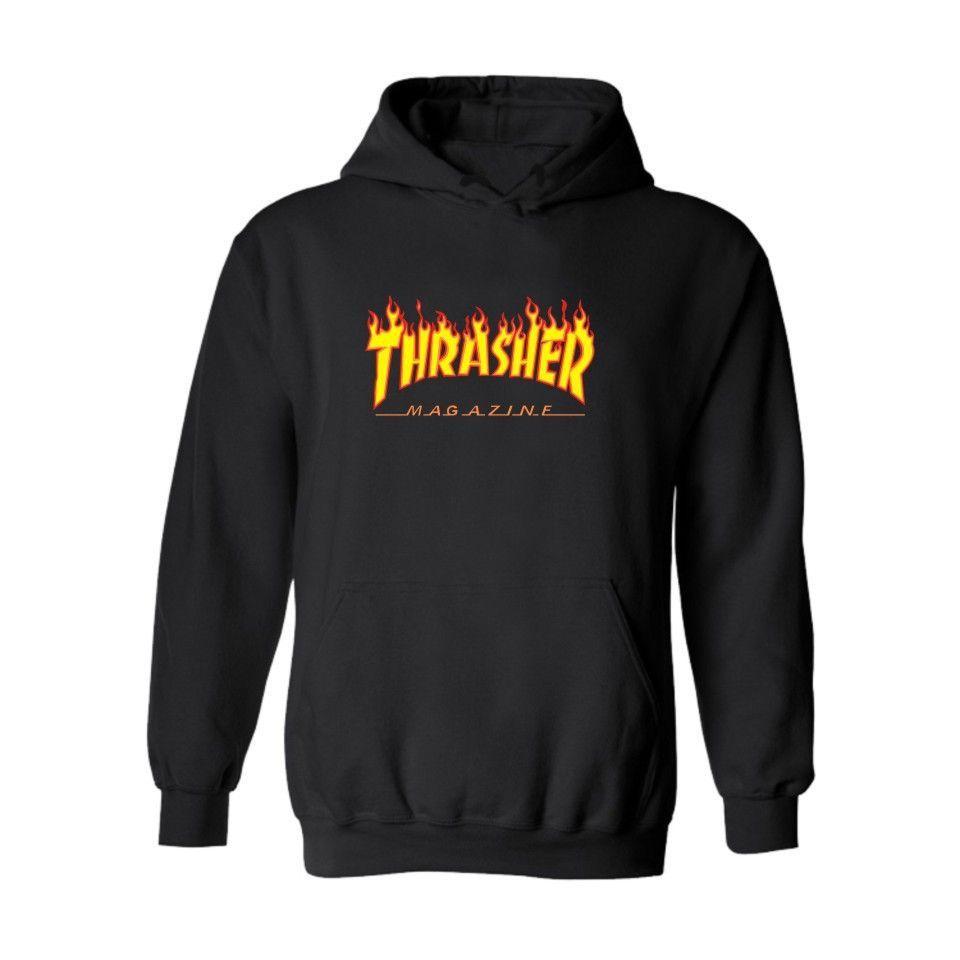 Thrasher Hoodies Hooded Sweatshirt Men Hoodies Men Mens Sweatshirts Hoodie [ 960 x 960 Pixel ]