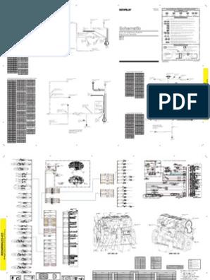 Diagrama C15 Electrica Instalacion Electrica Conectores Electricos