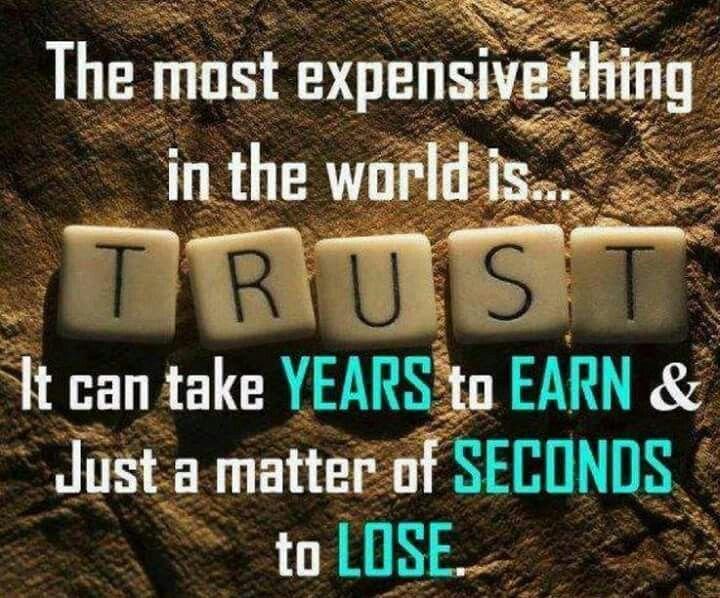 Trust. .....