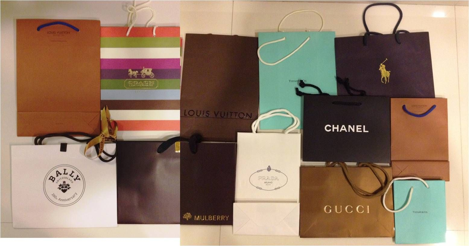 Branded paper bags for sale