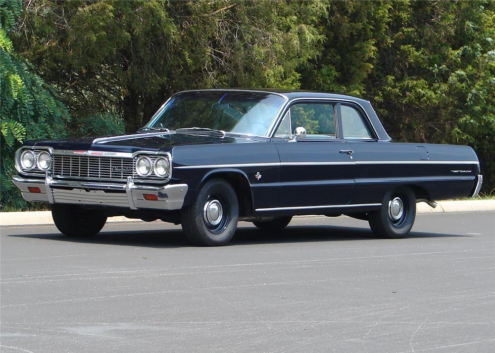 1964 Chevrolet Bel Air 409 2 Dr Sedan Chevrolet Bel Air Chevrolet Bel Air