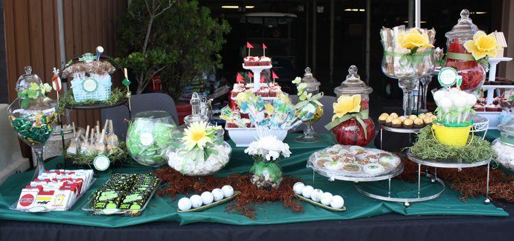 Golf Theme Dessert Table