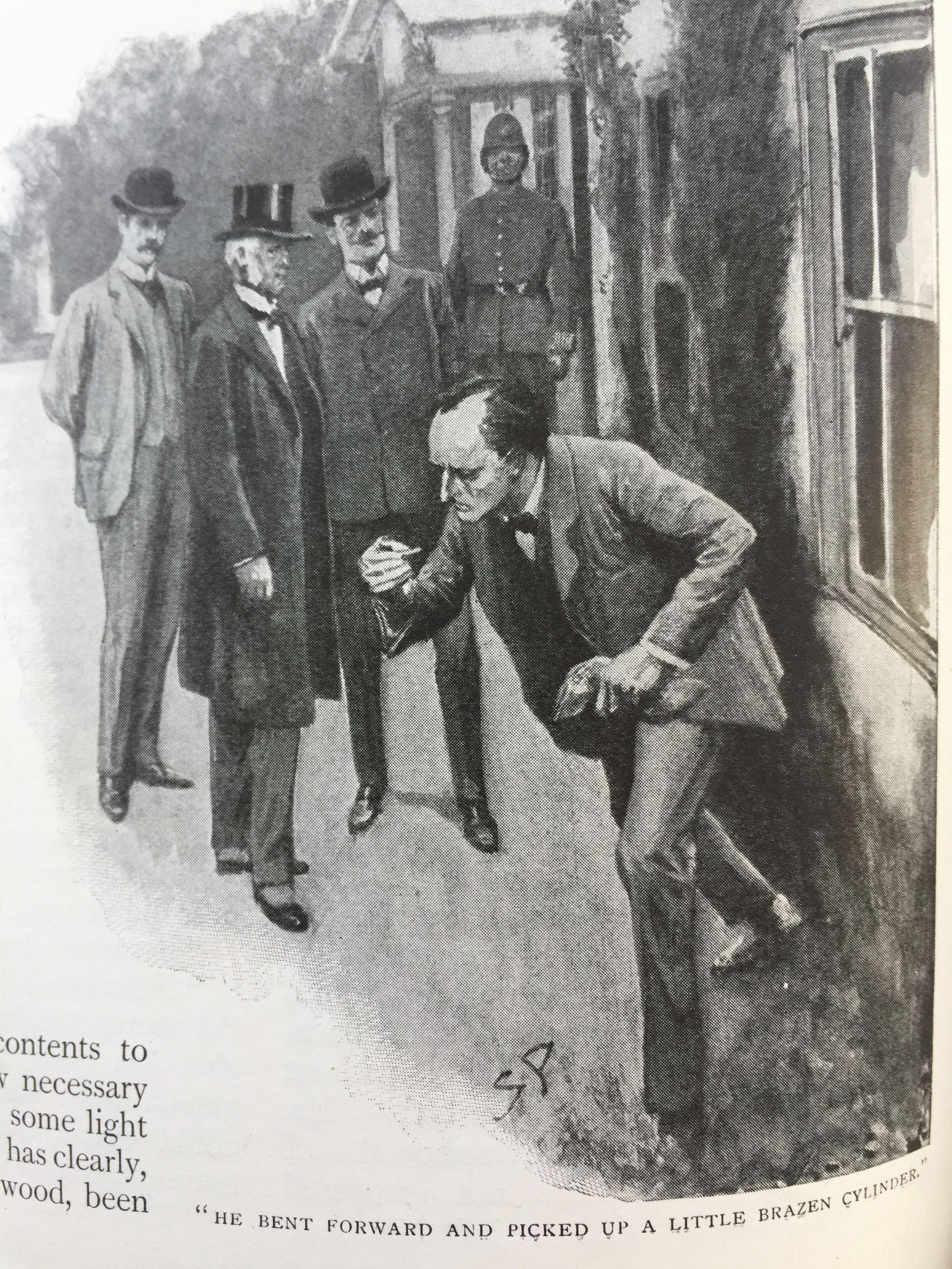 The Dancing Men Sidney Paget The Strand Magazine