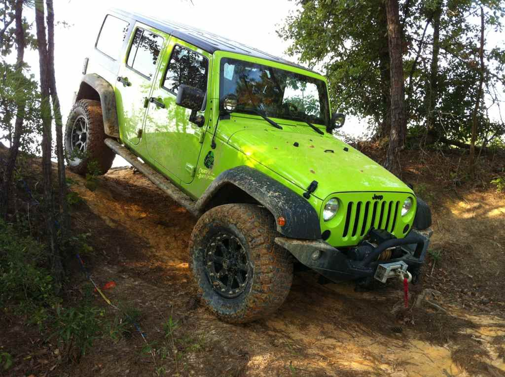 Well I Did Name It The Creature Green Jeep Jeep Wrangler