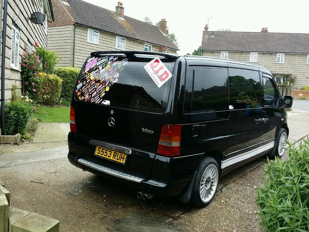 Mercedes Vito 108d Day Van Camper Swap