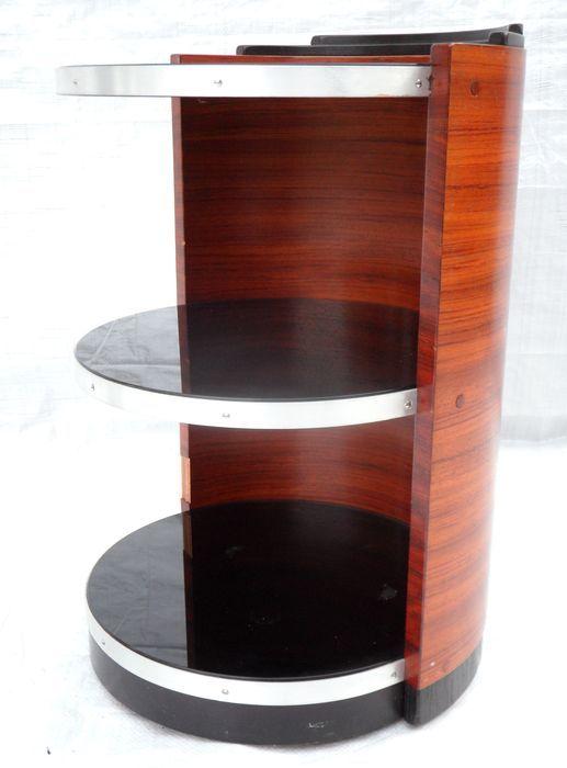 Schuitema Decoforma Bijzettafel.Mcm Bar Tea Table On Wheels Schuitema For Decoforma
