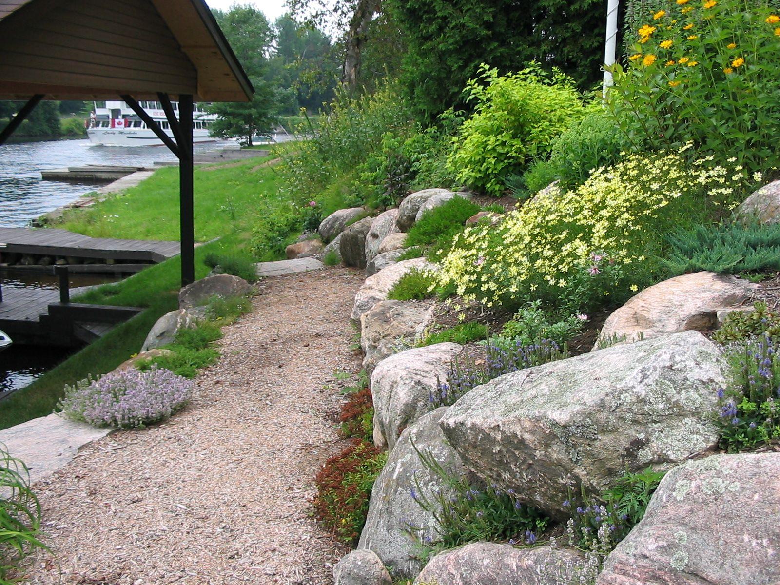 natural retaining walls