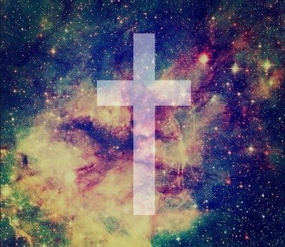Galaxy Swag Cross Wallpaper Jesus Tumblr