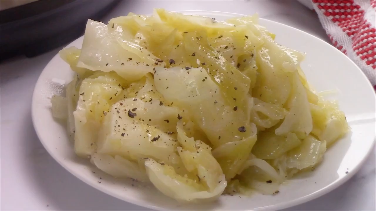 Photo of Instant Pot Buttered Cabbage