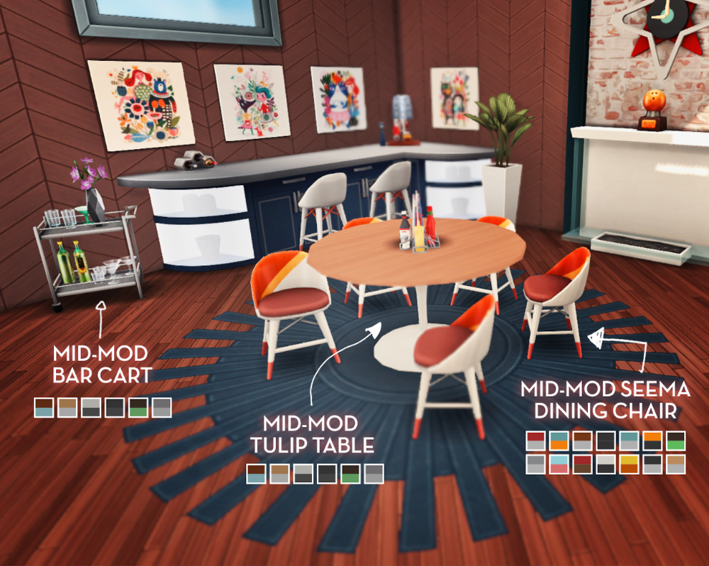 Sims 4 Cc Furniture