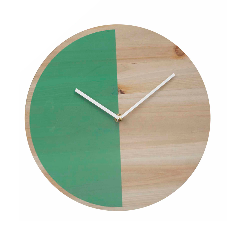 Lilly Wall Clock Green Wall Clock Clever Design Clock