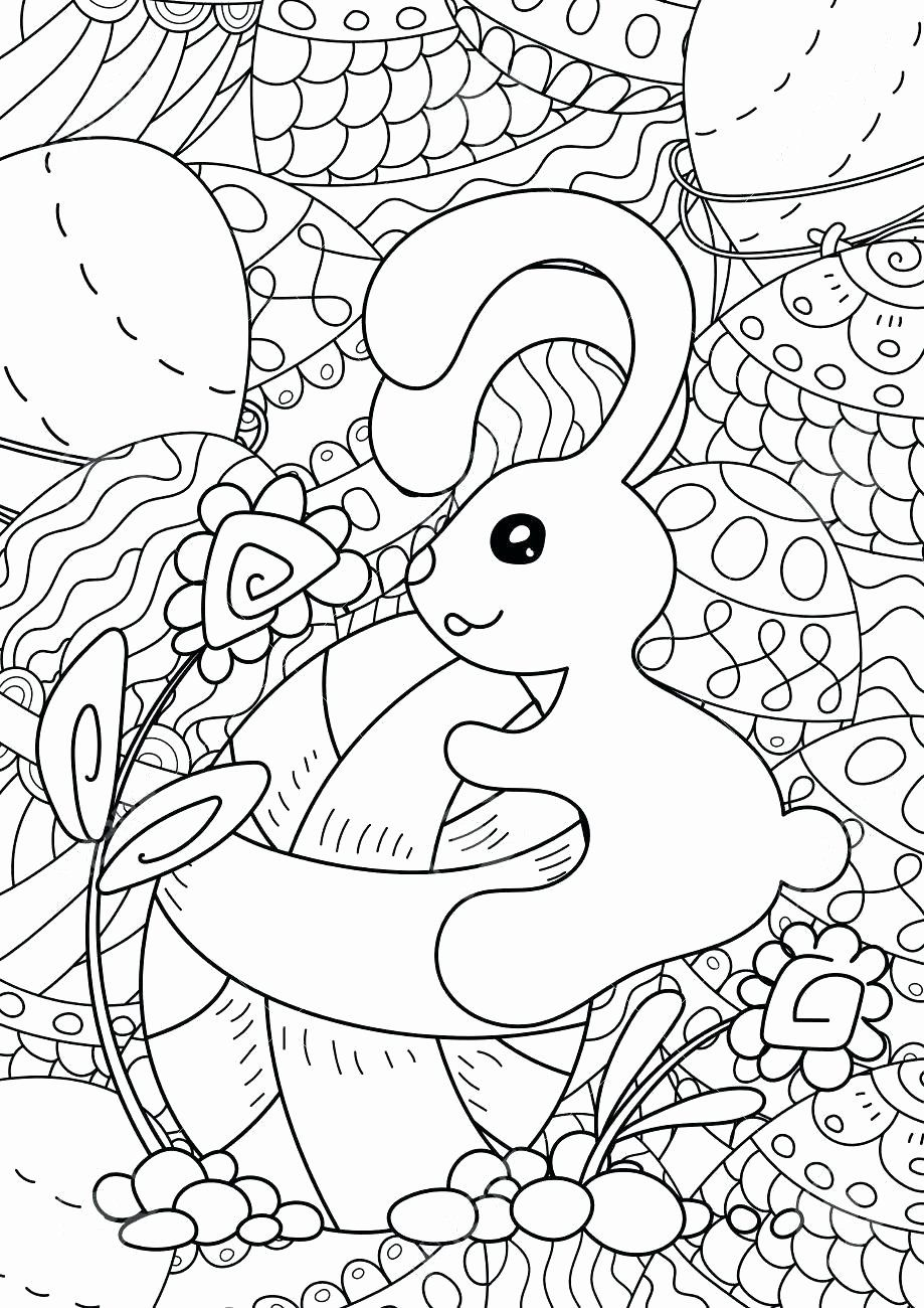 Easter Preschool Coloring Pages Best Of Full Page