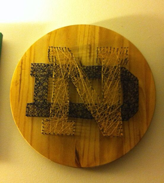 Notre Dame String Art Wall Plaque Decoration. Ready to ...