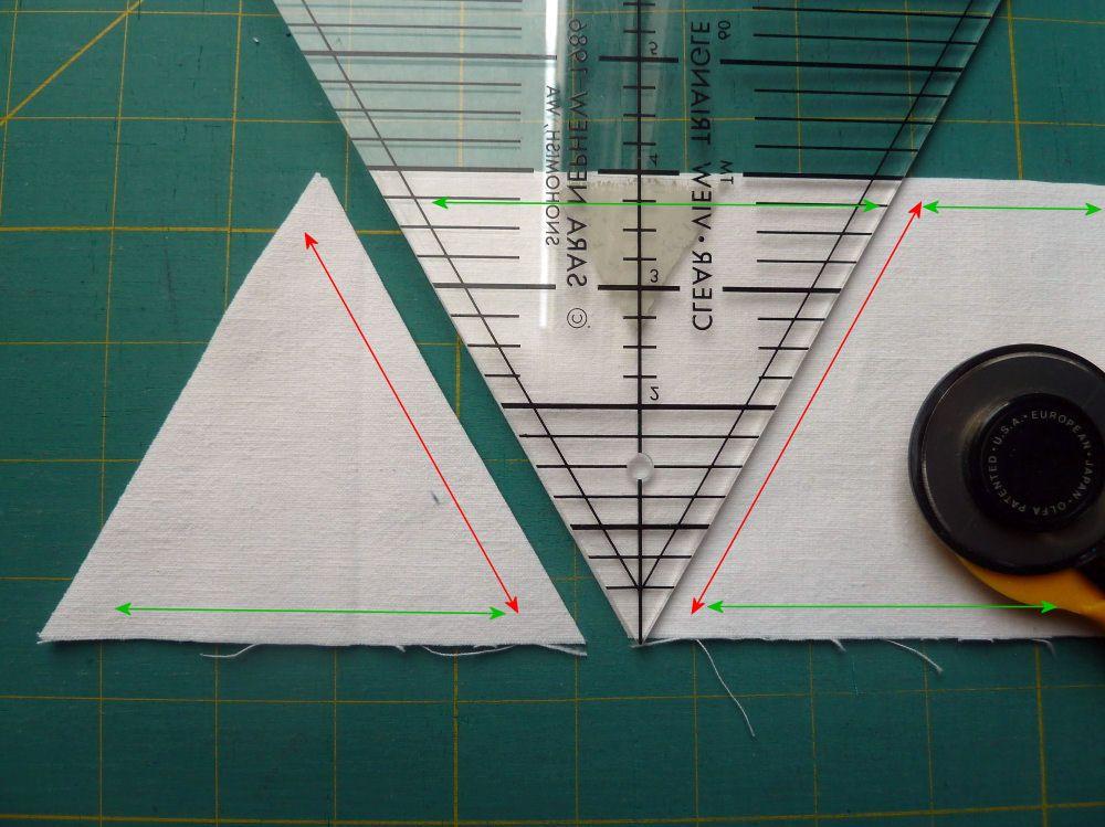 Tipps für Patchworker: Dreiecke, Rauten und der Fadenlauf » BERNINA Blog