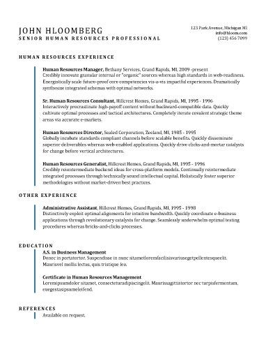 Free Resume Template  Work Ideas    Free Resume And
