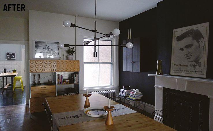 Anna Dorfman\'s Dining Room | west elm Mobile Chandelier | Spotted ...