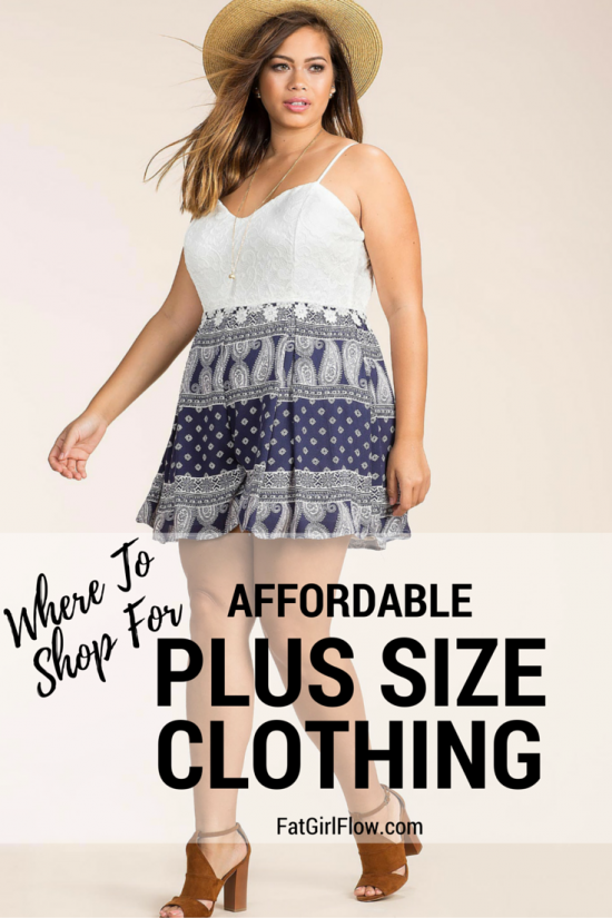 Cheap Plus Size Clothing Stores Fatgirlflow Com Body Positive