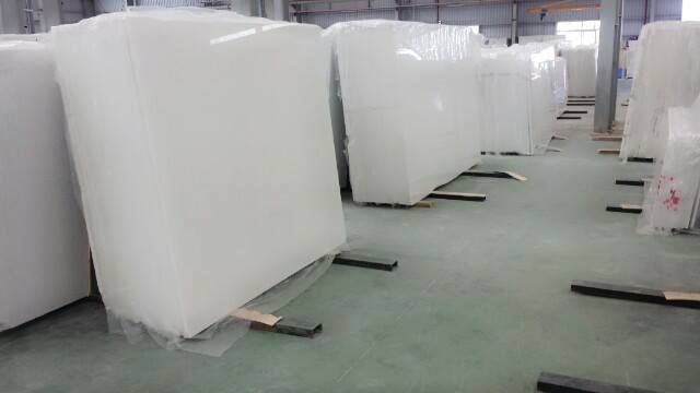 Pure Crystal White Marble Slabs and Tiles from Nastoma Stone ...