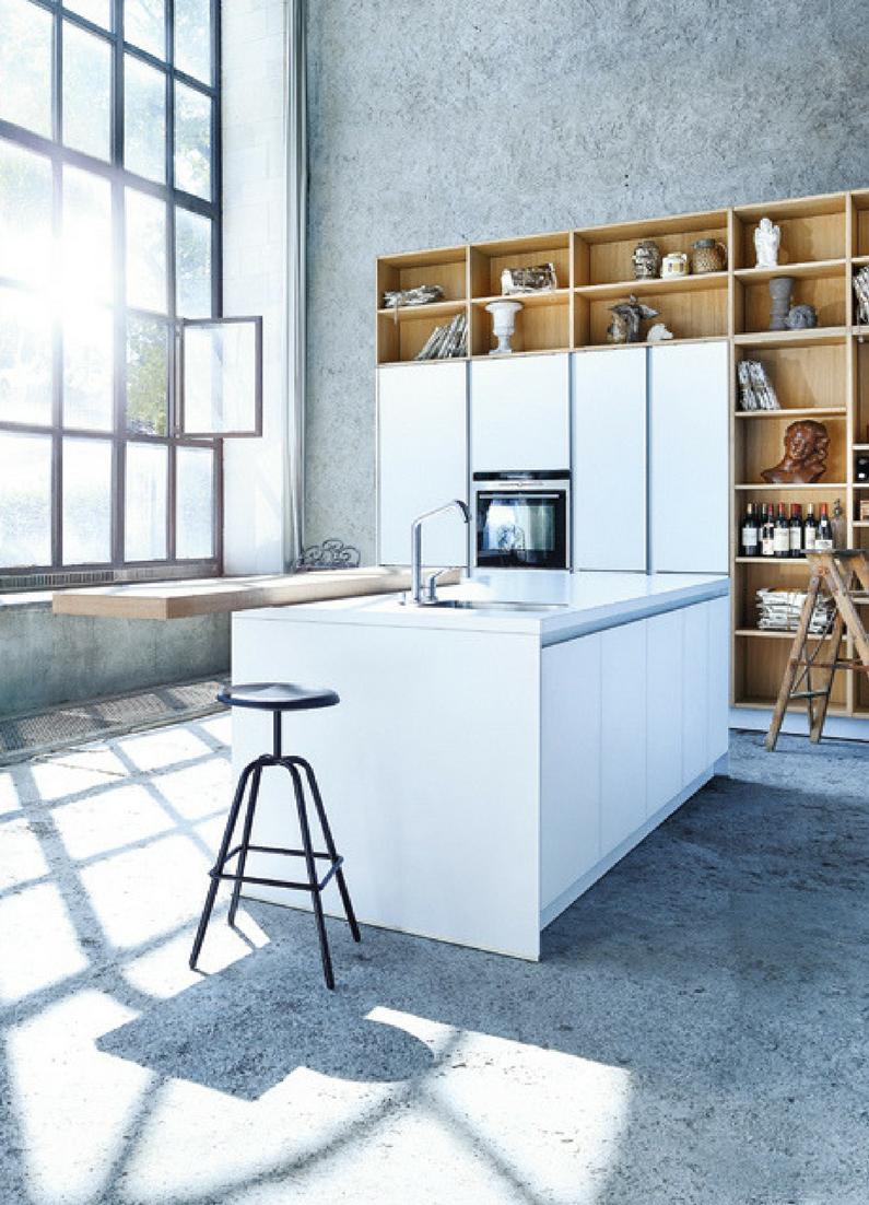 Wunderbar Küche, Weiß, Weiße Küche, Kochinsel, Kücheninsel, Hell, Helle Küche,