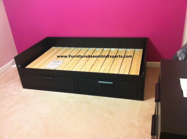 ikea brimnes daybed assembled in chantilly va for a customer kid`s room by Furni…