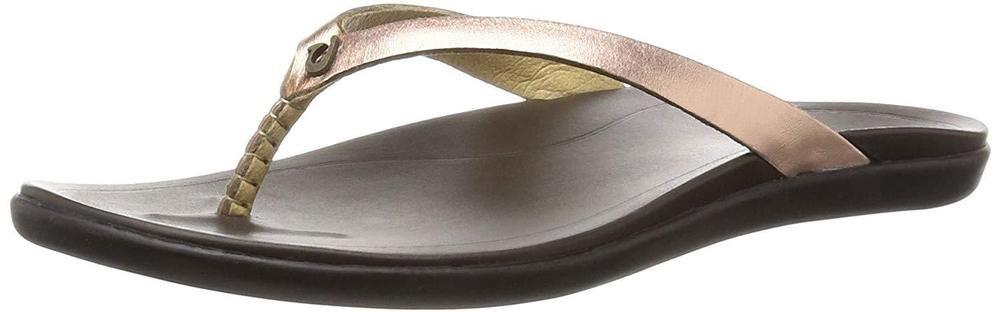 853d9fd143df2 OluKai Ho opio Leather Sandal - Women s Copper Dark Java 6  fashion   clothing  shoes  accessories  womensshoes  sandals (ebay link)
