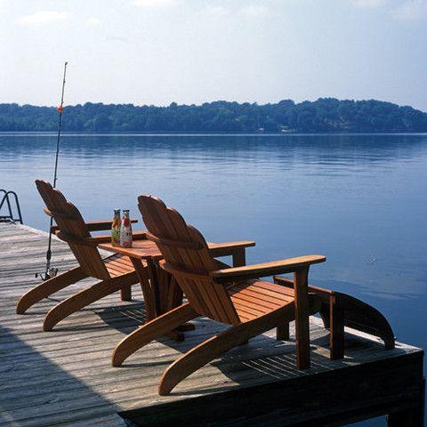 Old Forge Brazilian Cherry Adirondack Chair And Footrest Adirondack Chair Quality Garden Furniture Muskoka Chair