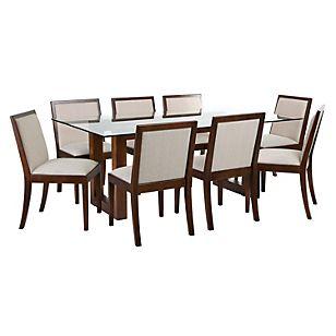 Basement home juego de comedor 8 sillas tucson casa for Juego de comedor de 8 sillas moderno