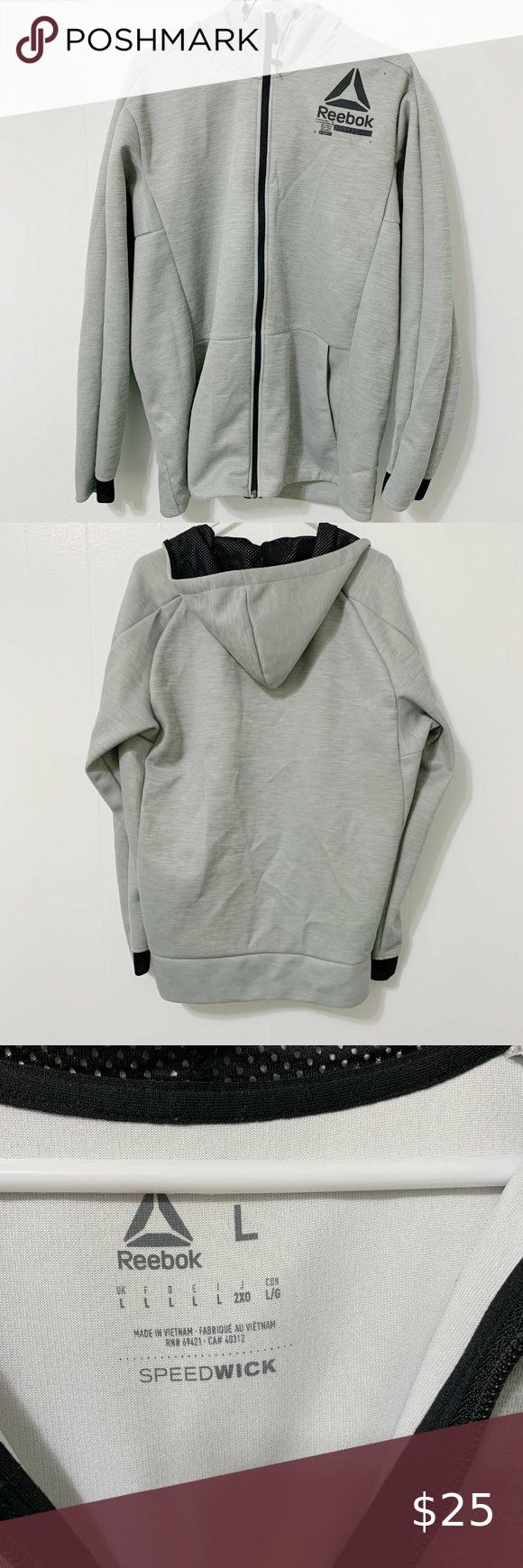Reebok Speedwick Jacket Reebok Speedwick Jacket Size Large Like New Shoulder 18 1 2 P To P 22 1 2 Sleeve 25 1 2 Le Clothes Design Fashion Design Fashion [ 1740 x 580 Pixel ]