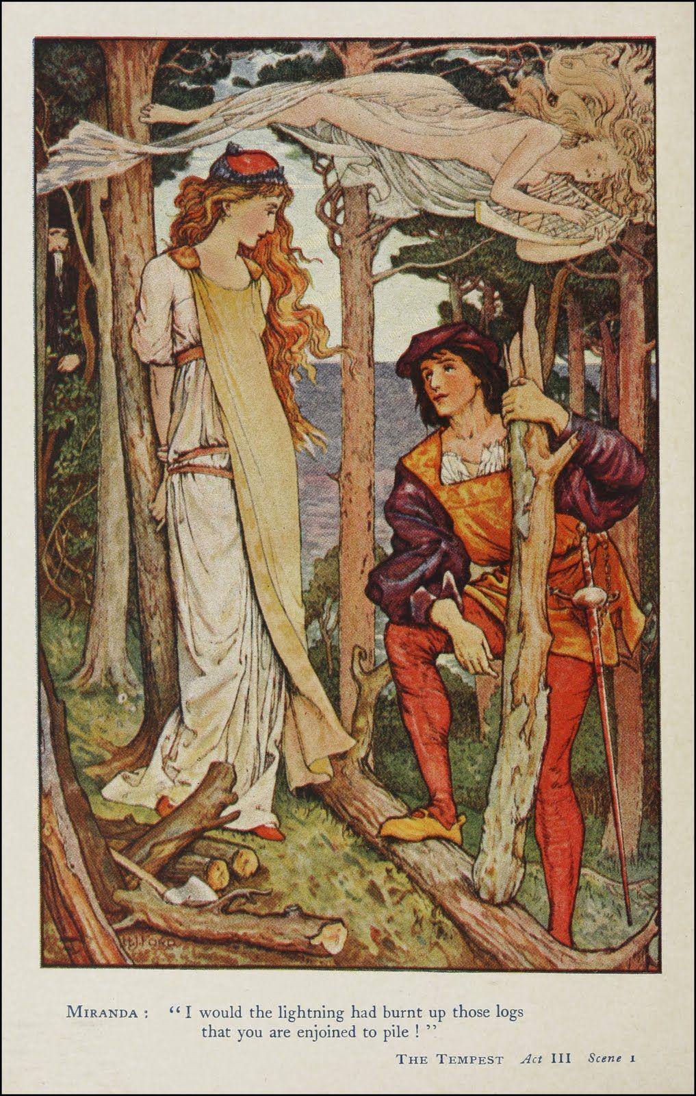 Ford Misc Fairytale Art Shakespeare