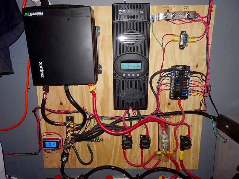 This is an overview of how my solar system is wired, the ... Where Wiring Is Used on