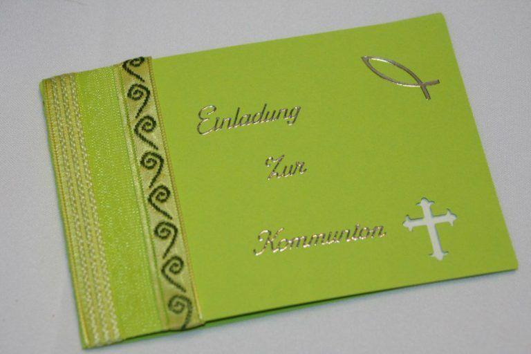 konfirmation einladungskarten basteln | einladungskarten