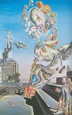 Salvador Dali The Lugubrious Game Fine Art Reproduction Oil