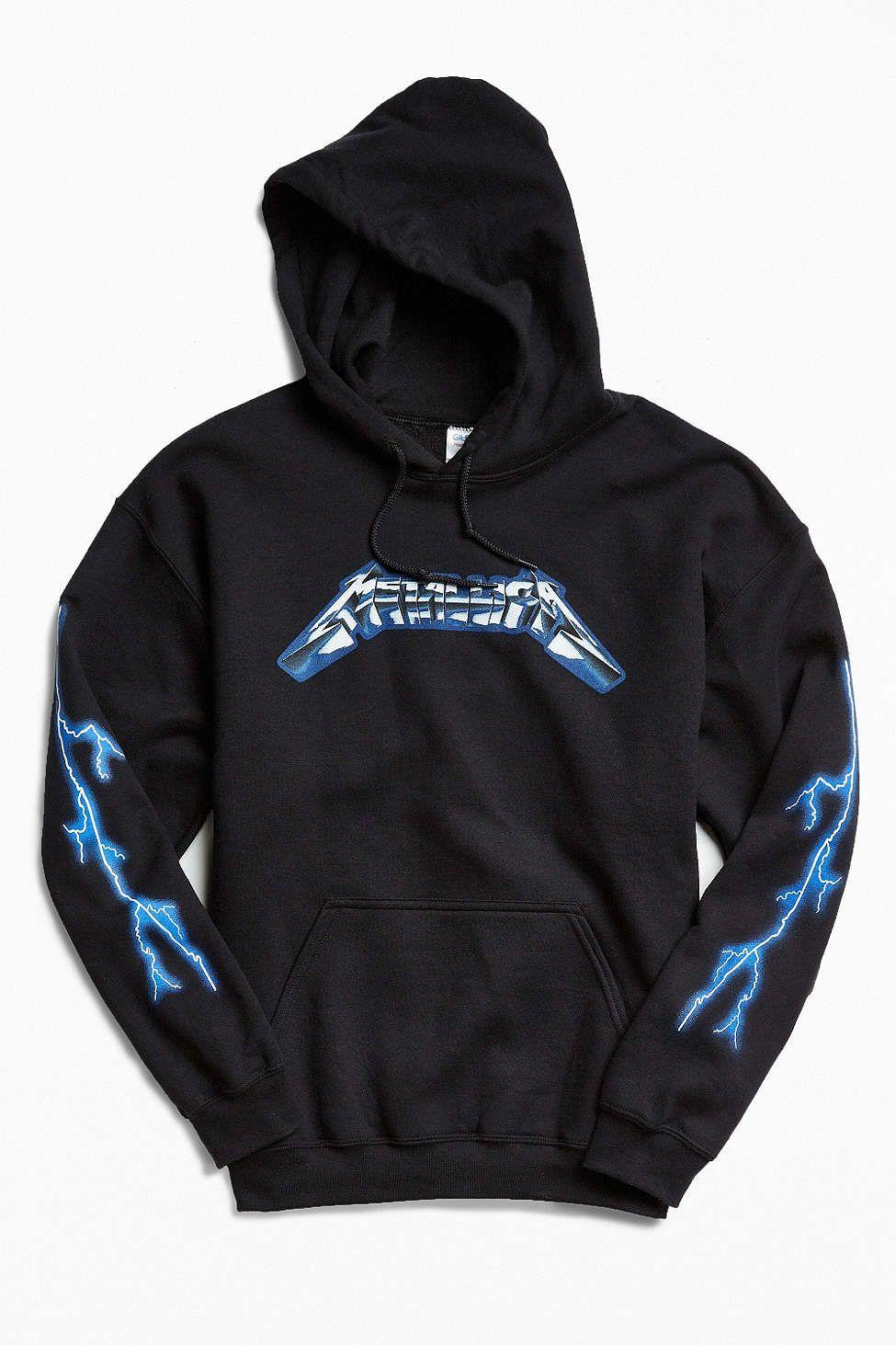 782d0cca Metallica Ride The Lightning Hoodie Sweatshirt   Things   Hoodies ...