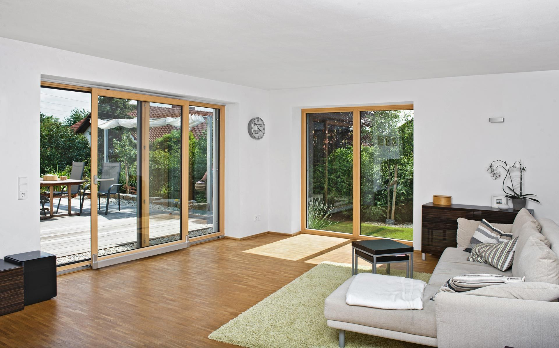 Holzfenster modern  Unilux HebeSchiebeTür in Holz-Alu | Fenster | Pinterest | Fenster ...