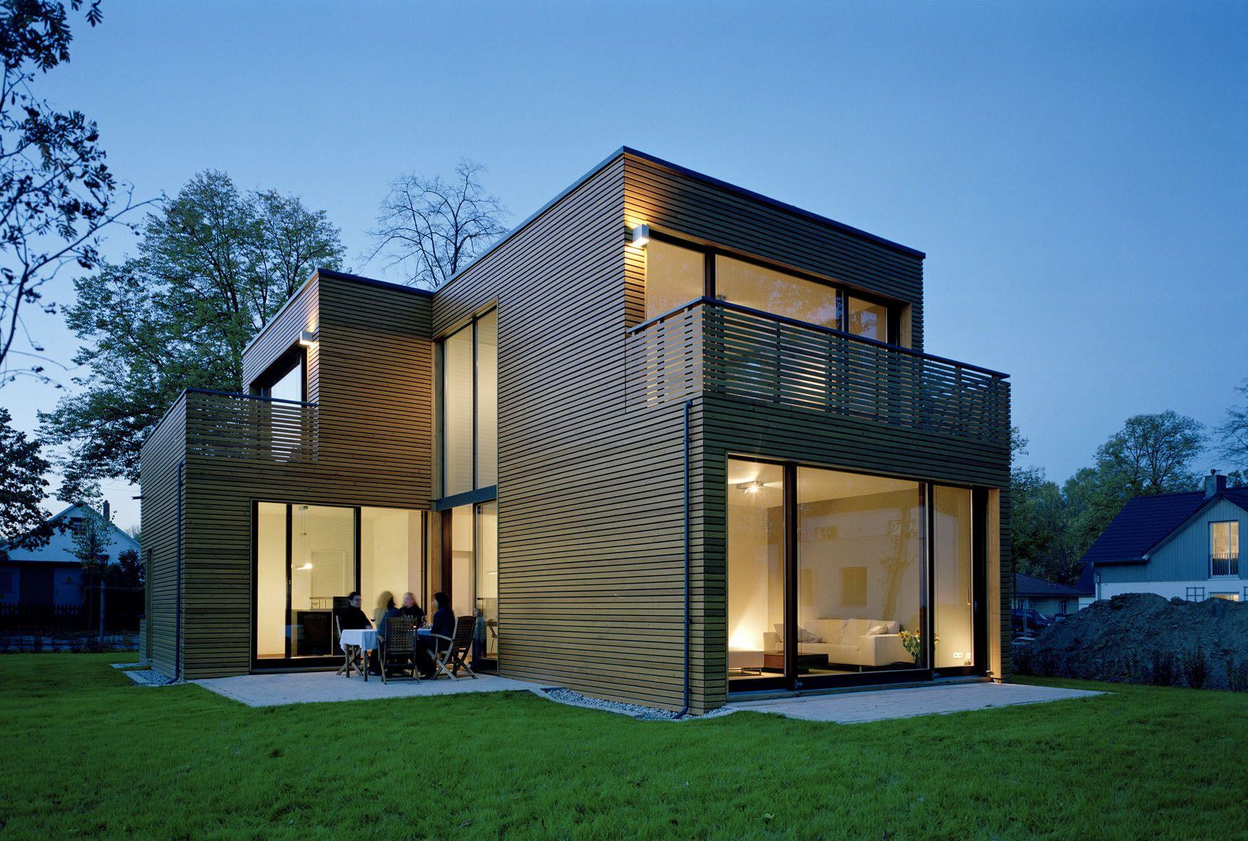 Holz glas beelitz moderne häuser aussen suche leben grafik wohnen