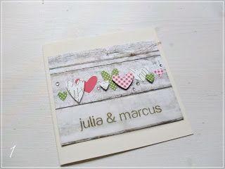 Entwürfe für Hochzeitseinladungen