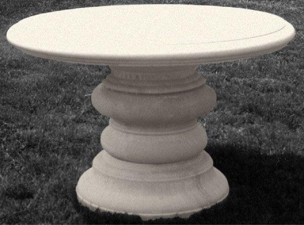 Cast stone table.  Stone Legends Architectural Cast Stone   (600×445)