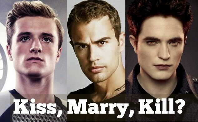 Kiss Marry Kill Harry Potter Edition Kiss Marry Kill Game Married Harry Potter