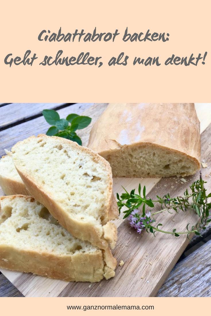 Photo of Ciabatta – leckeres Brot zum Grillen und zum Salat