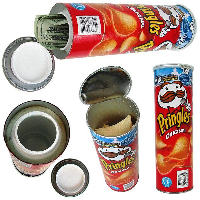 Image for Pringles Can Diversion Safe - Hide your Money ...